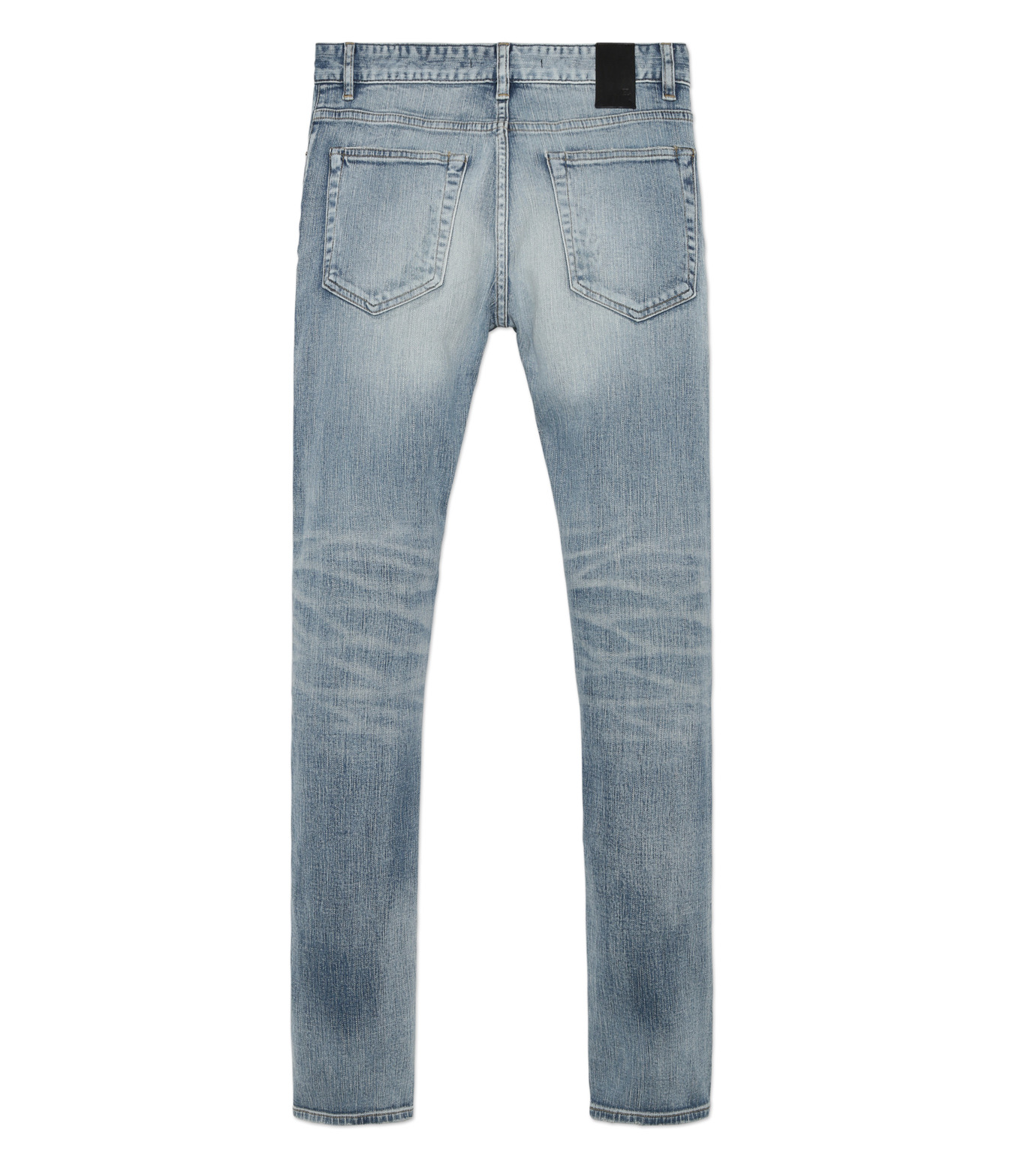 HL HEDDIE LOVU(エイチエル・エディールーヴ)のind damage3 skin slim-BLUE(パンツ/pants)-18S98002-92 拡大詳細画像5