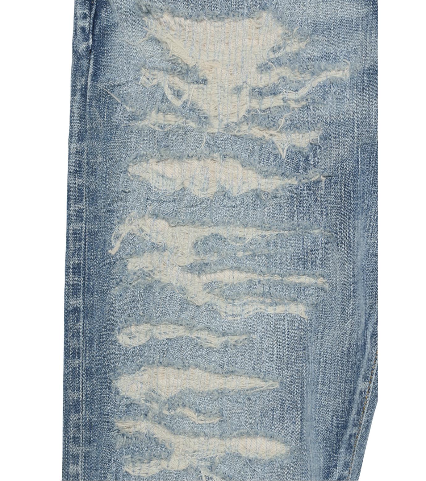 HL HEDDIE LOVU(エイチエル・エディールーヴ)のind damage3 skin slim-BLUE(パンツ/pants)-18S98002-92 拡大詳細画像6