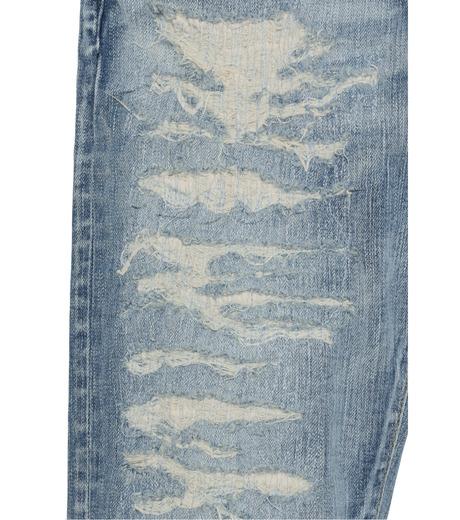 HL HEDDIE LOVU(エイチエル・エディールーヴ)のind damage3 skin slim-BLUE(パンツ/pants)-18S98002-92 詳細画像6
