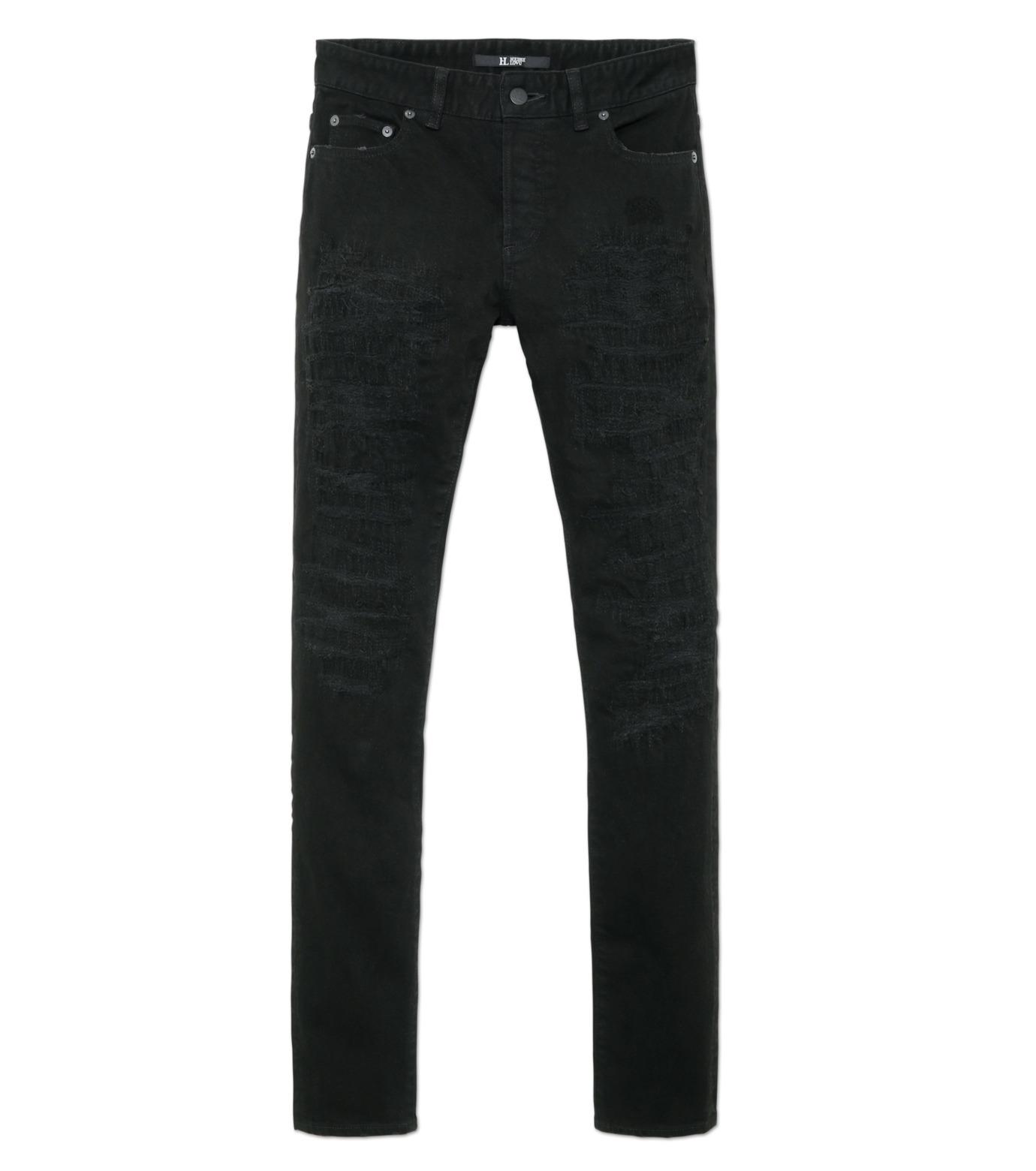 HL HEDDIE LOVU(エイチエル・エディールーヴ)のblk damage3 skin slim-BLACK(パンツ/pants)-18S98003-13 拡大詳細画像4
