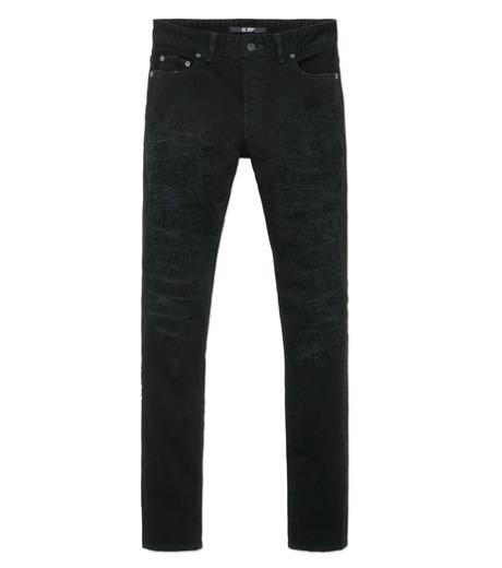 HL HEDDIE LOVU(エイチエル・エディールーヴ)のblk damage3 skin slim-BLACK(パンツ/pants)-18S98003-13 詳細画像4