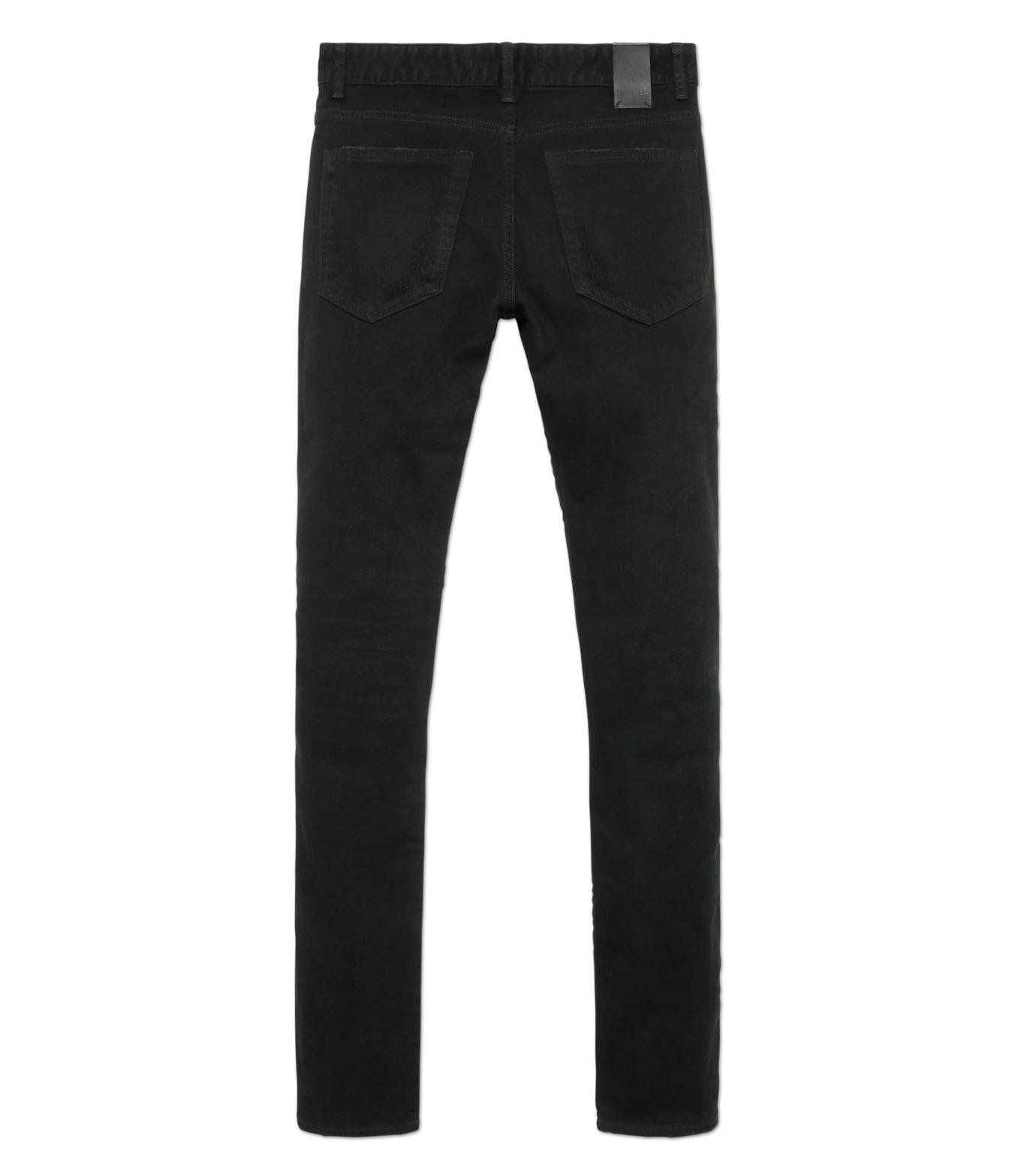 HL HEDDIE LOVU(エイチエル・エディールーヴ)のblk damage3 skin slim-BLACK(パンツ/pants)-18S98003-13 拡大詳細画像5