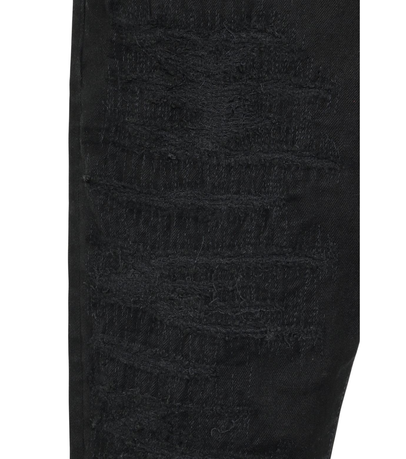 HL HEDDIE LOVU(エイチエル・エディールーヴ)のblk damage3 skin slim-BLACK(パンツ/pants)-18S98003-13 拡大詳細画像6