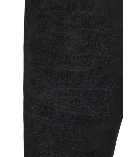 HL HEDDIE LOVU(エイチエル・エディールーヴ)のblk damage3 skin slim-BLACK(パンツ/pants)-18S98003-13 詳細画像6
