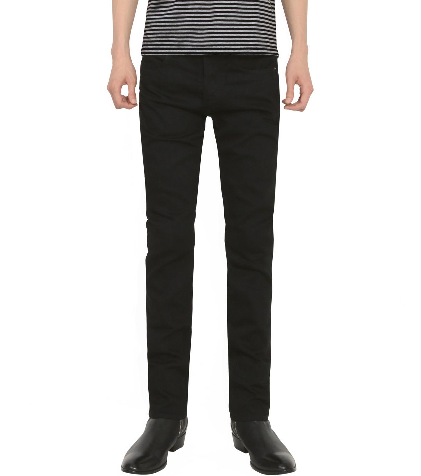 HL HEDDIE LOVU(エイチエル・エディールーヴ)のHL SLIM-BLACK(パンツ/pants)-18S98009-13 拡大詳細画像3