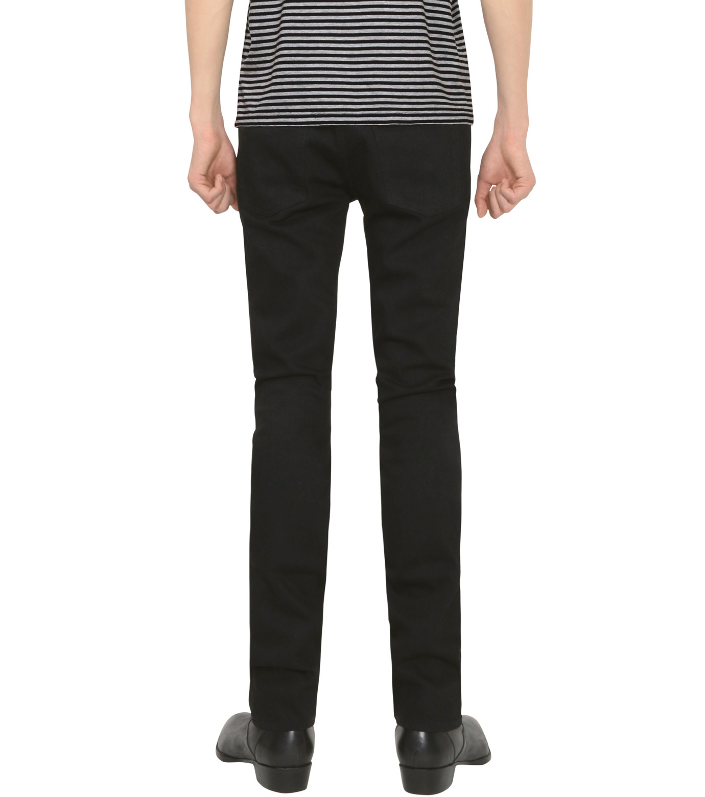 HL HEDDIE LOVU(エイチエル・エディールーヴ)のHL SLIM-BLACK(パンツ/pants)-18S98009-13 拡大詳細画像4