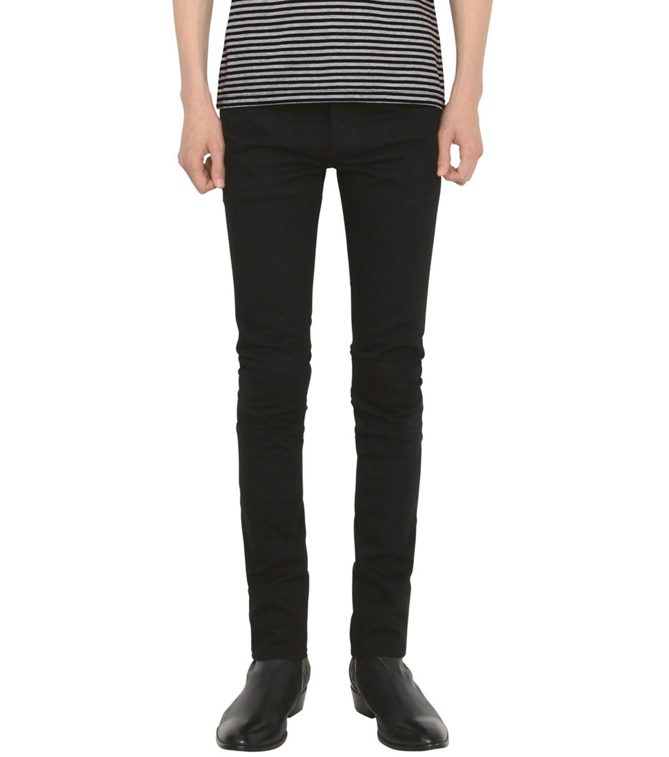 HL HEDDIE LOVU(エイチエル・エディールーヴ)のHL SUPER SLIM-BLACK(パンツ/pants)-18S98010-13 拡大詳細画像1
