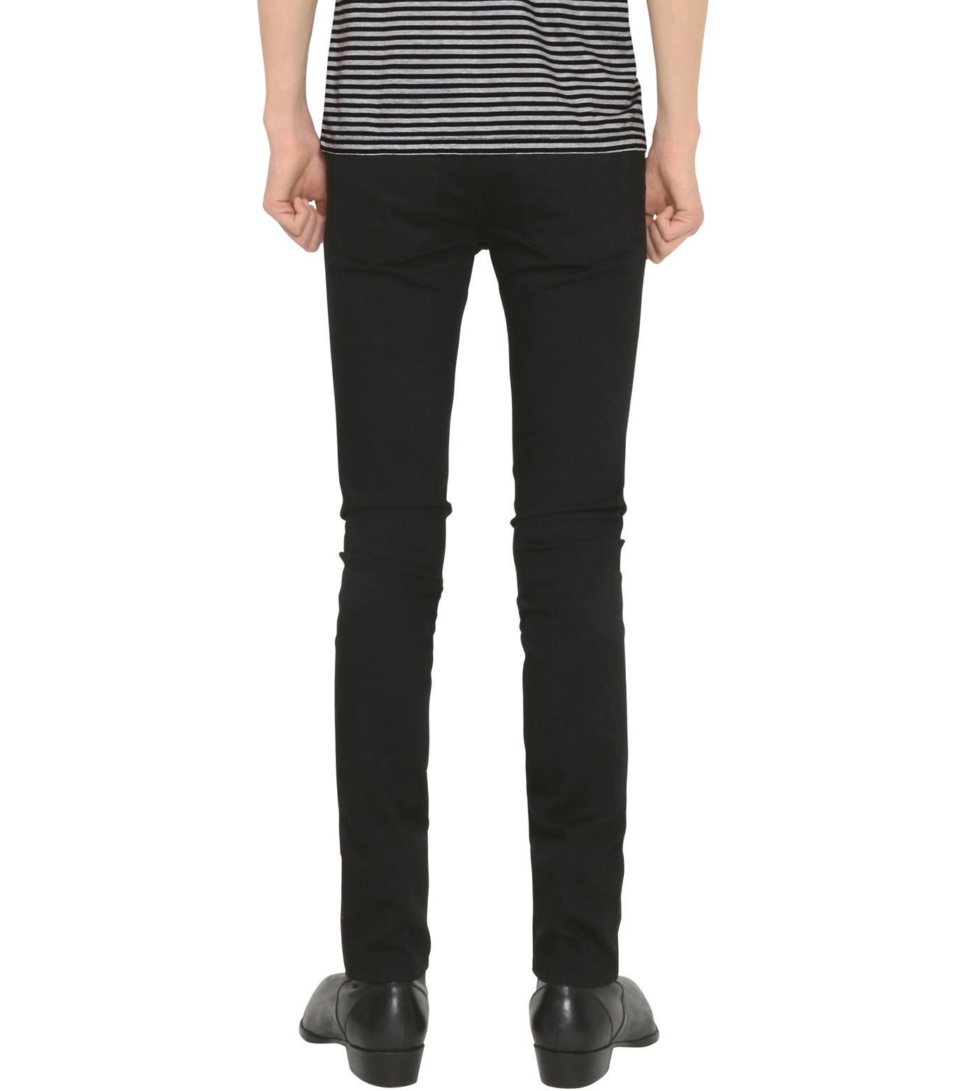 HL HEDDIE LOVU(エイチエル・エディールーヴ)のHL SUPER SLIM-BLACK(パンツ/pants)-18S98010-13 拡大詳細画像2