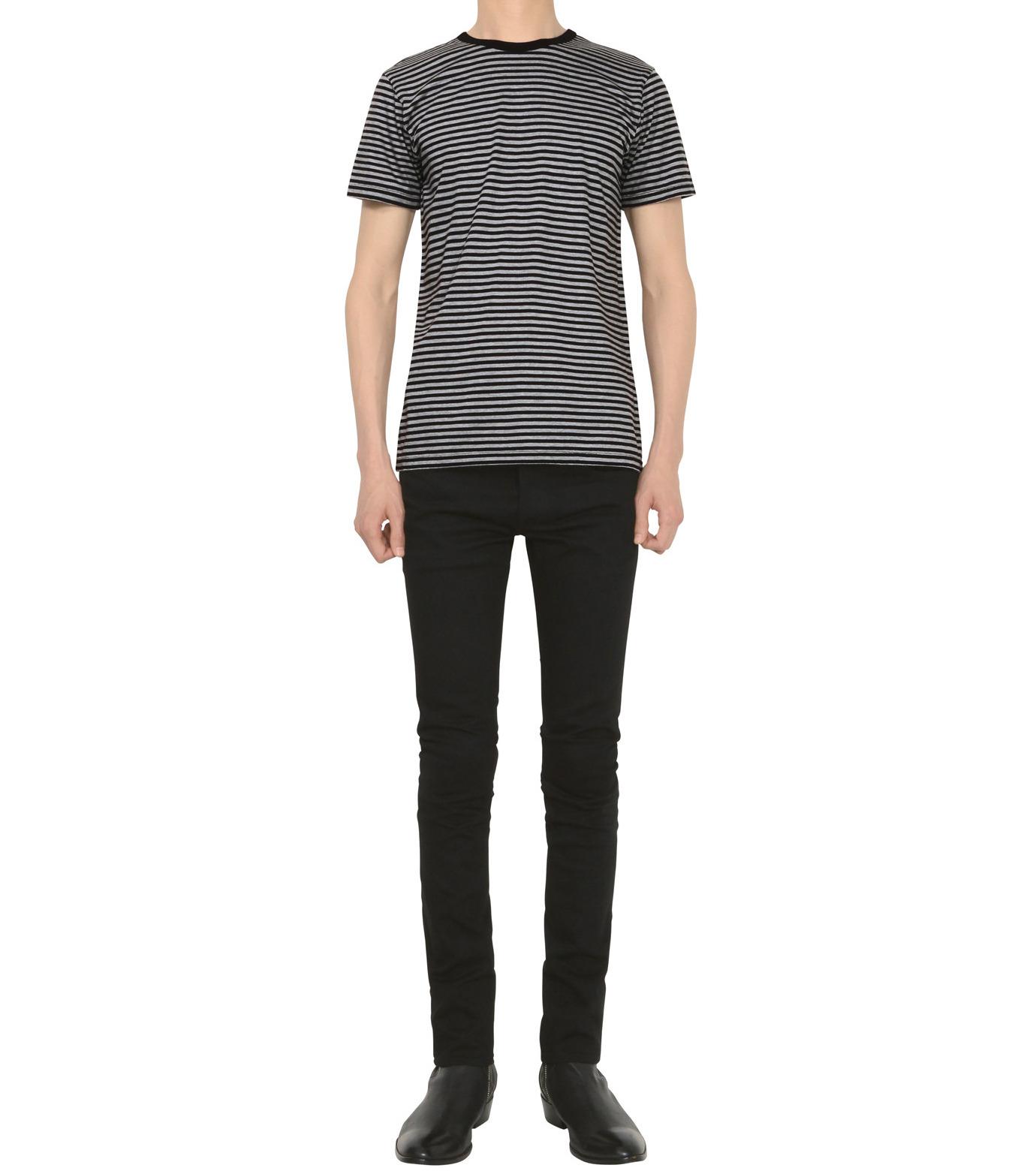 HL HEDDIE LOVU(エイチエル・エディールーヴ)のHL SUPER SLIM-BLACK(パンツ/pants)-18S98010-13 拡大詳細画像3