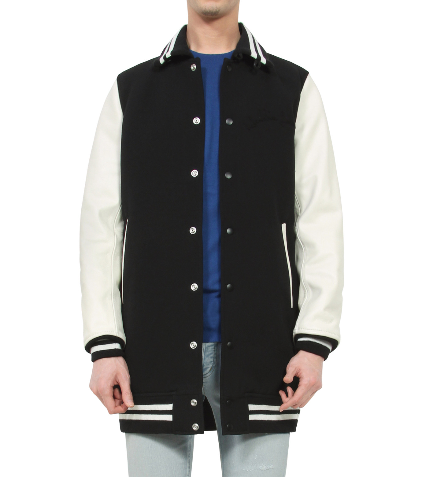 HL HEDDIE LOVU(エイチエル・エディールーヴ)のLONG STADIUM JAC-WHITE(ジャケット/jacket)-18S99002-4 拡大詳細画像1