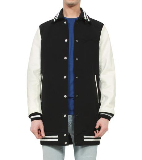 HL HEDDIE LOVU(エイチエル・エディールーヴ)のLONG STADIUM JAC-WHITE(ジャケット/jacket)-18S99002-4 詳細画像1