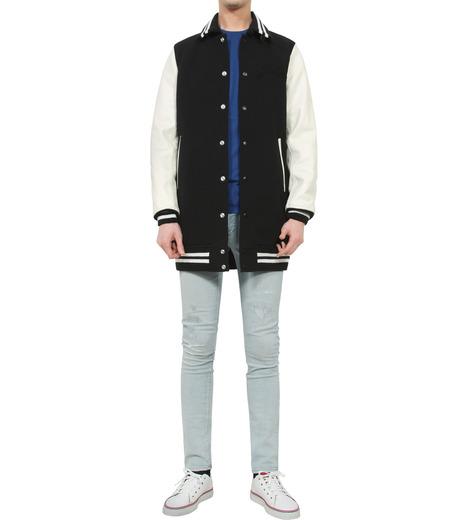 HL HEDDIE LOVU(エイチエル・エディールーヴ)のLONG STADIUM JAC-WHITE(ジャケット/jacket)-18S99002-4 詳細画像3