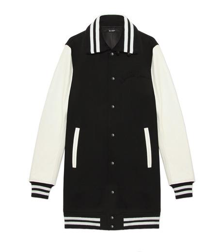 HL HEDDIE LOVU(エイチエル・エディールーヴ)のLONG STADIUM JAC-WHITE(ジャケット/jacket)-18S99002-4 詳細画像4