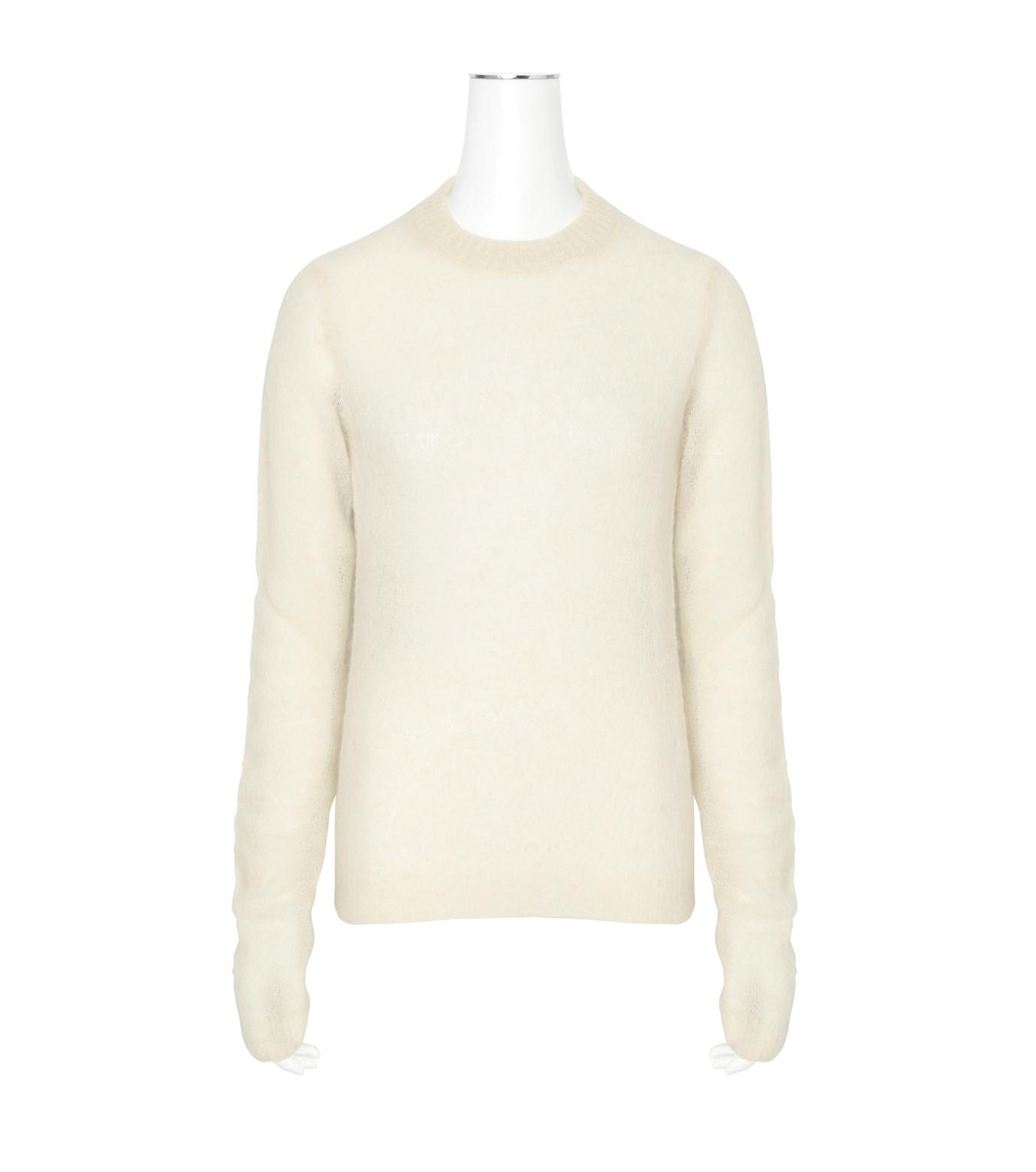 ACNE STUDIOS(アクネ ストゥディオズ)のAlpaca Extra LS Pullover-WHITE(ニット/knit)-19F166-5 拡大詳細画像1