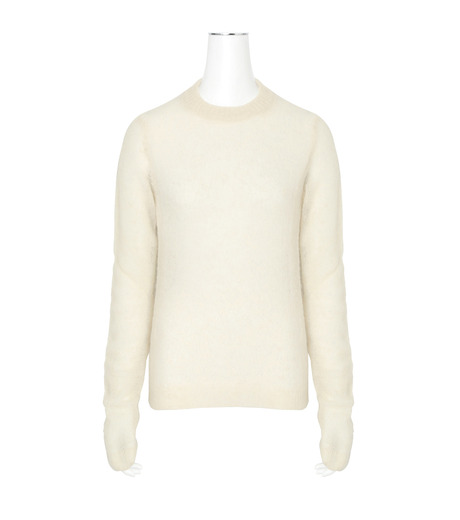 ACNE STUDIOS(アクネ ストゥディオズ)のAlpaca Extra LS Pullover-WHITE(ニット/knit)-19F166-5 詳細画像1