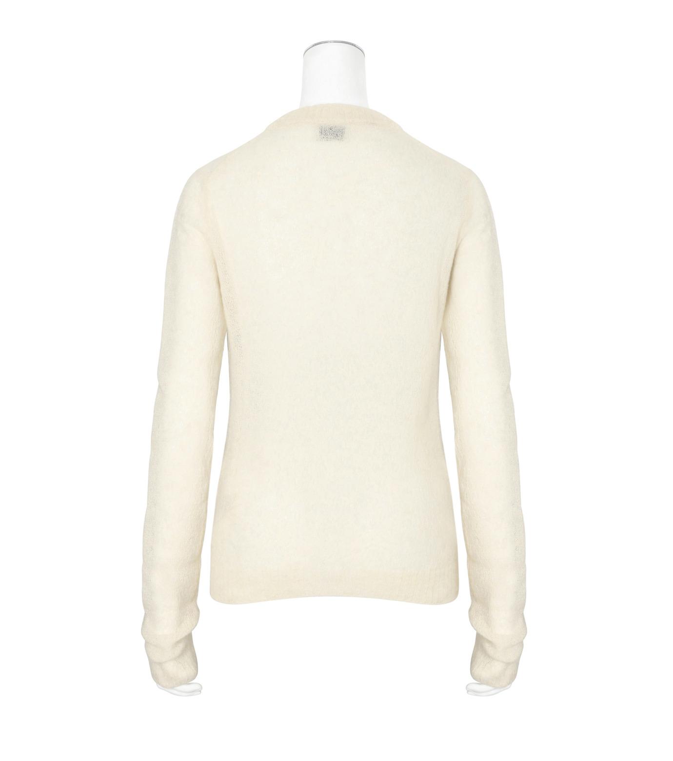 ACNE STUDIOS(アクネ ストゥディオズ)のAlpaca Extra LS Pullover-WHITE(ニット/knit)-19F166-5 拡大詳細画像2
