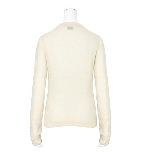 ACNE STUDIOS(アクネ ストゥディオズ)のAlpaca Extra LS Pullover-WHITE(ニット/knit)-19F166-5 詳細画像2