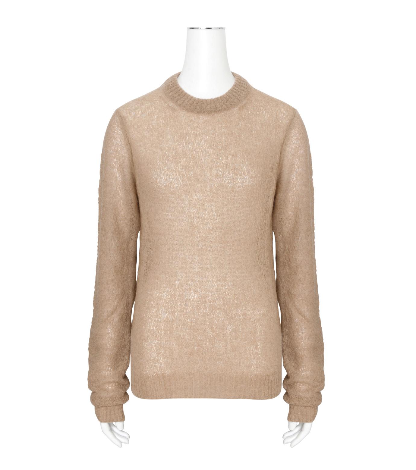 ACNE STUDIOS(アクネ ストゥディオズ)のAlpaca Extra LS Pullover-BEIGE(ニット/knit)-19F166-52 拡大詳細画像1