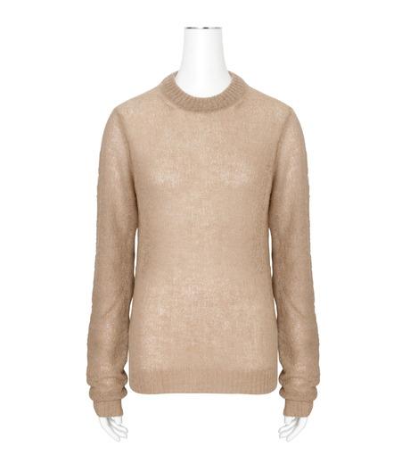 ACNE STUDIOS(アクネ ストゥディオズ)のAlpaca Extra LS Pullover-BEIGE(ニット/knit)-19F166-52 詳細画像1