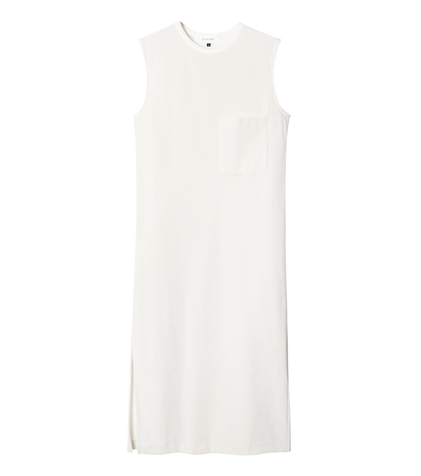 LE CIEL BLEU(ルシェルブルー)のベロアチュニックドレス-WHITE(トップス/tops)-19S62102 拡大詳細画像1