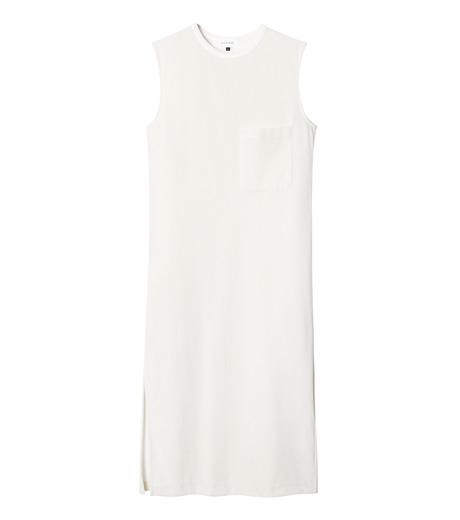 LE CIEL BLEU(ルシェルブルー)のベロアチュニックドレス-WHITE(トップス/tops)-19S62102 詳細画像1