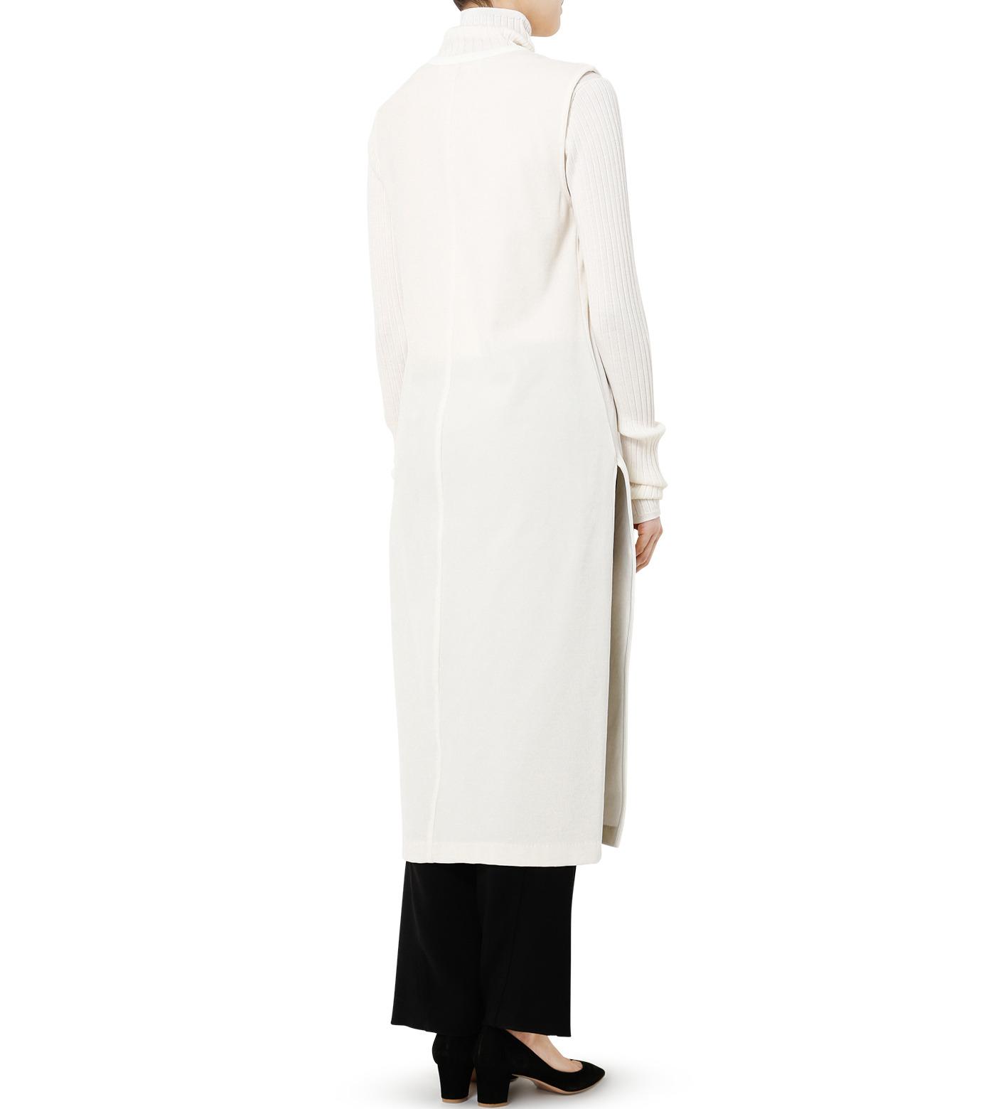 LE CIEL BLEU(ルシェルブルー)のベロアチュニックドレス-WHITE(トップス/tops)-19S62102 拡大詳細画像4