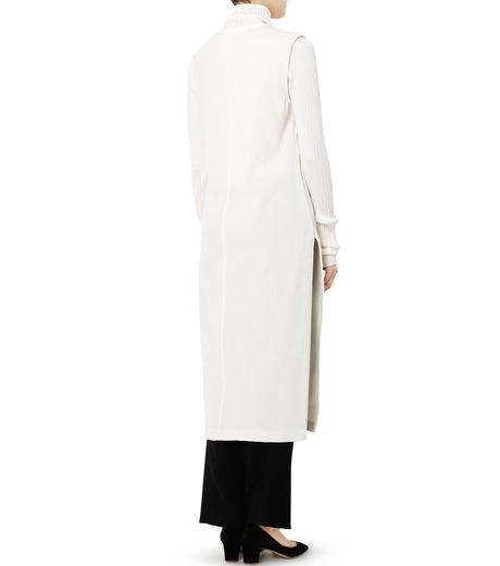 LE CIEL BLEU(ルシェルブルー)のベロアチュニックドレス-WHITE(トップス/tops)-19S62102 詳細画像4