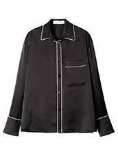 LE CIEL BLEU パジャマルックシャツ