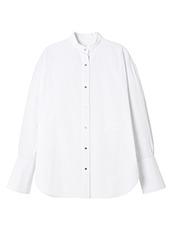 LE CIEL BLEU(ルシェルブルー) オーバーサイズストライプシャツ