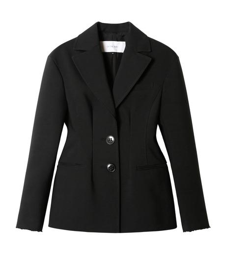 LE CIEL BLEU(ルシェルブルー)のデフォルメラインテーラージャケット-BLACK(ジャケット/jacket)-19S64103 詳細画像1