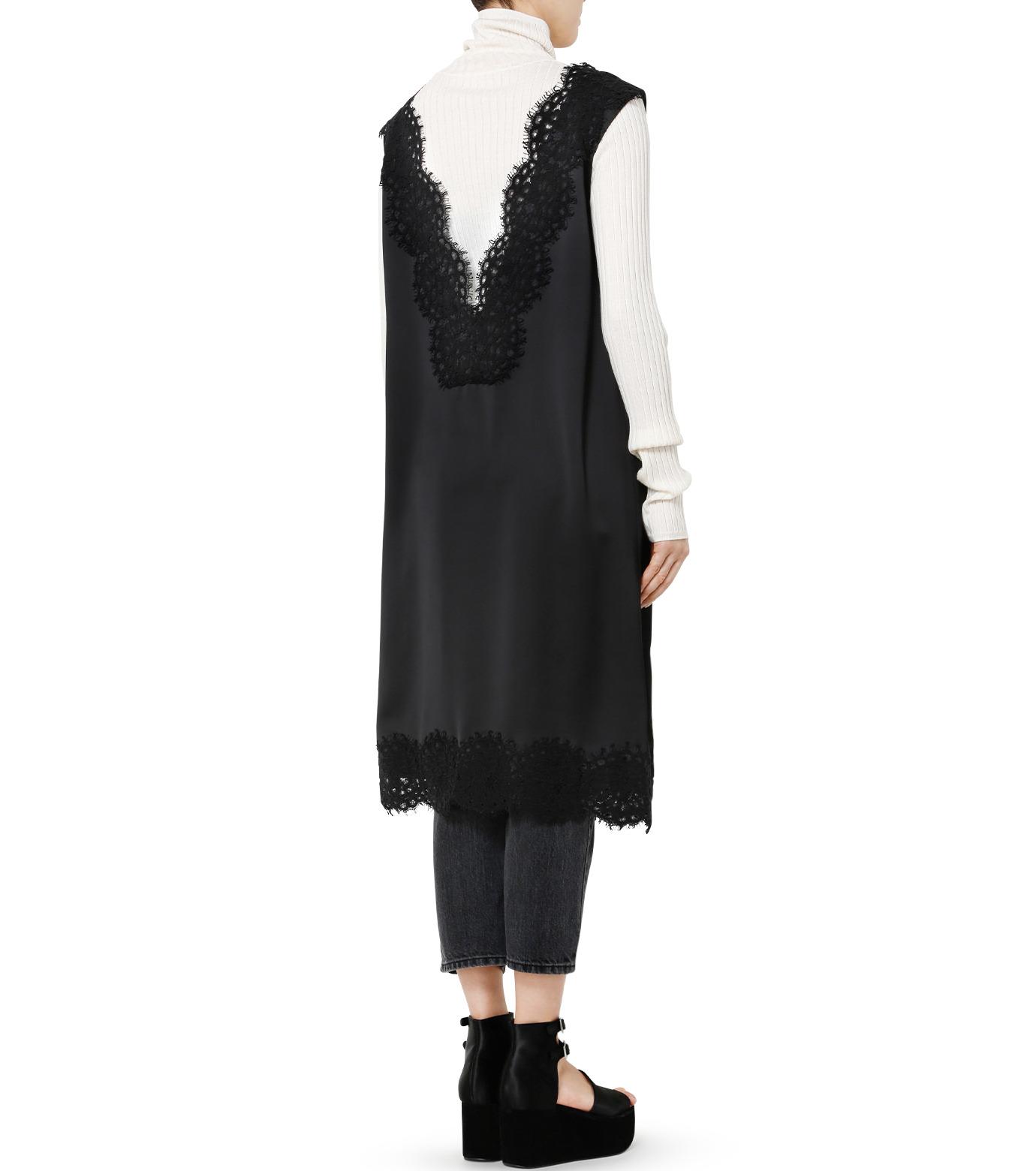 LE CIEL BLEU(ルシェルブルー)のランジェリーレースドレス-BLACK(ドレス/dress)-19S65101 拡大詳細画像4