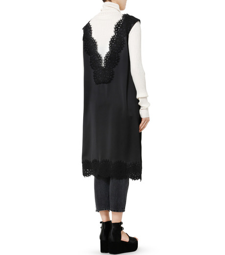 LE CIEL BLEU(ルシェルブルー)のランジェリーレースドレス-BLACK(ドレス/dress)-19S65101 詳細画像4