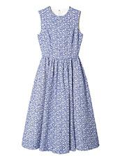 LE CIEL BLEU(ルシェルブルー) フローティングジャカードクラシックドレス