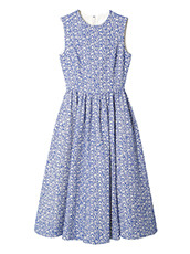 LE CIEL BLEU フローティングジャカードクラシックドレス
