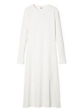 LE CIEL BLEU(ルシェルブルー) コットンブークレニットドレス