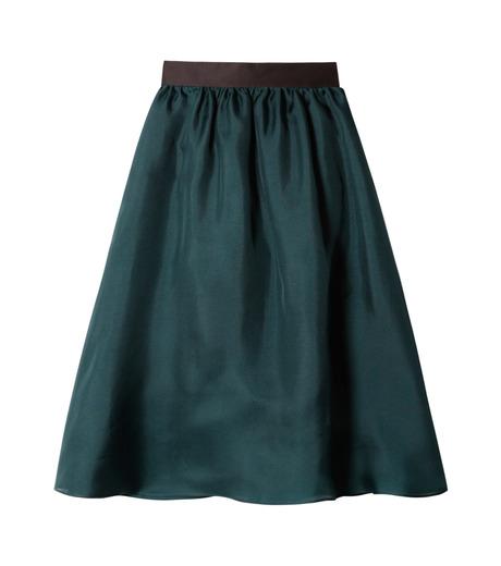 LE CIEL BLEU(ルシェルブルー)のオーガンジーボリュームスカート-GREEN(スカート/skirt)-19S67101 詳細画像1