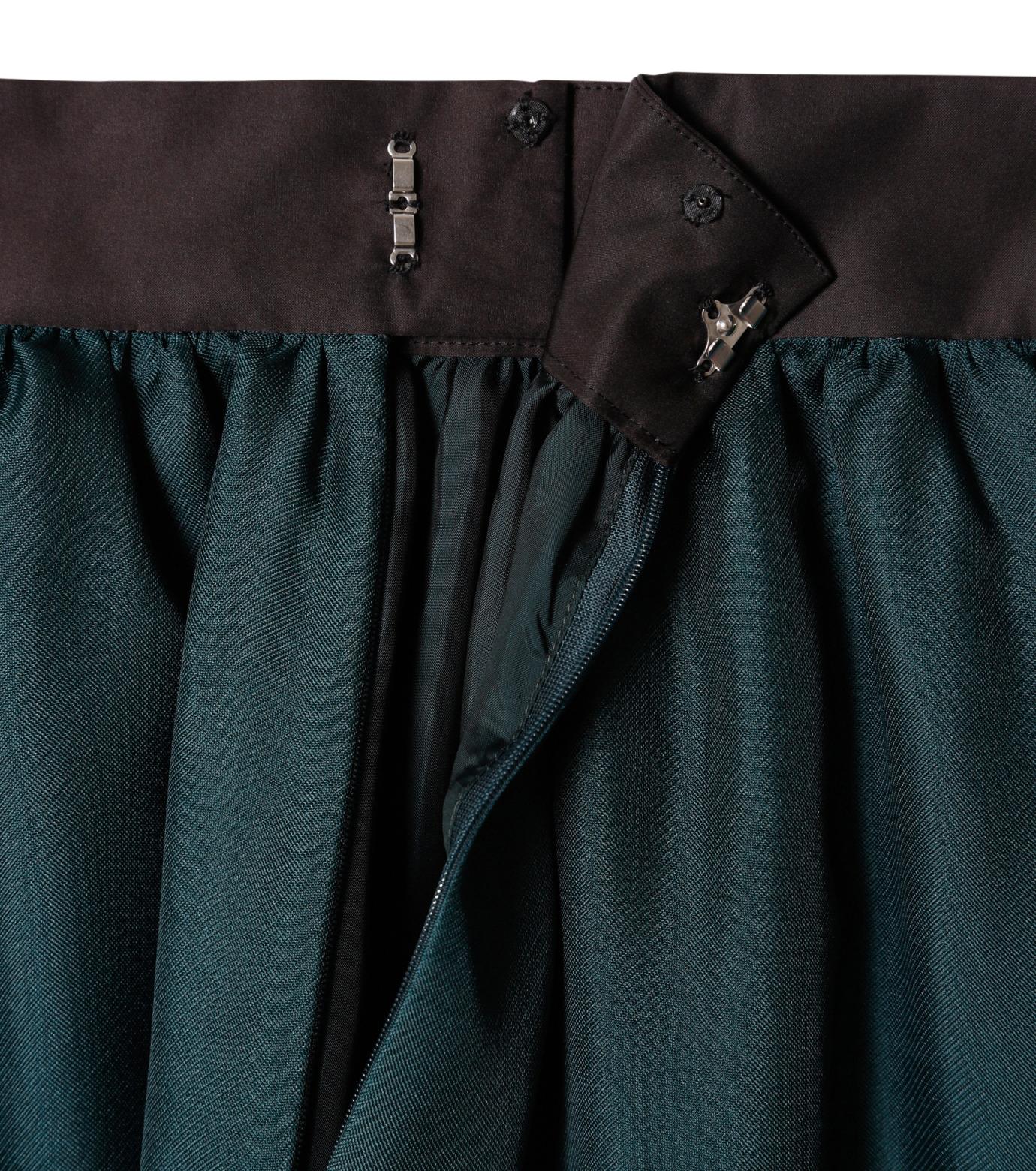 LE CIEL BLEU(ルシェルブルー)のオーガンジーボリュームスカート-GREEN(スカート/skirt)-19S67101 拡大詳細画像5