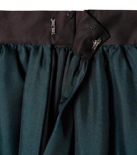 LE CIEL BLEU(ルシェルブルー)のオーガンジーボリュームスカート-GREEN(スカート/skirt)-19S67101 詳細画像5