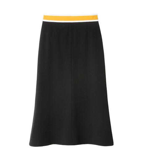LE CIEL BLEU(ルシェルブルー)のスイッチベルトフレアラインスカート-BLACK(スカート/skirt)-19S67102 詳細画像1
