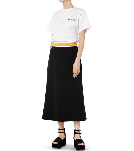 LE CIEL BLEU(ルシェルブルー)のスイッチベルトフレアラインスカート-BLACK(スカート/skirt)-19S67102 詳細画像2