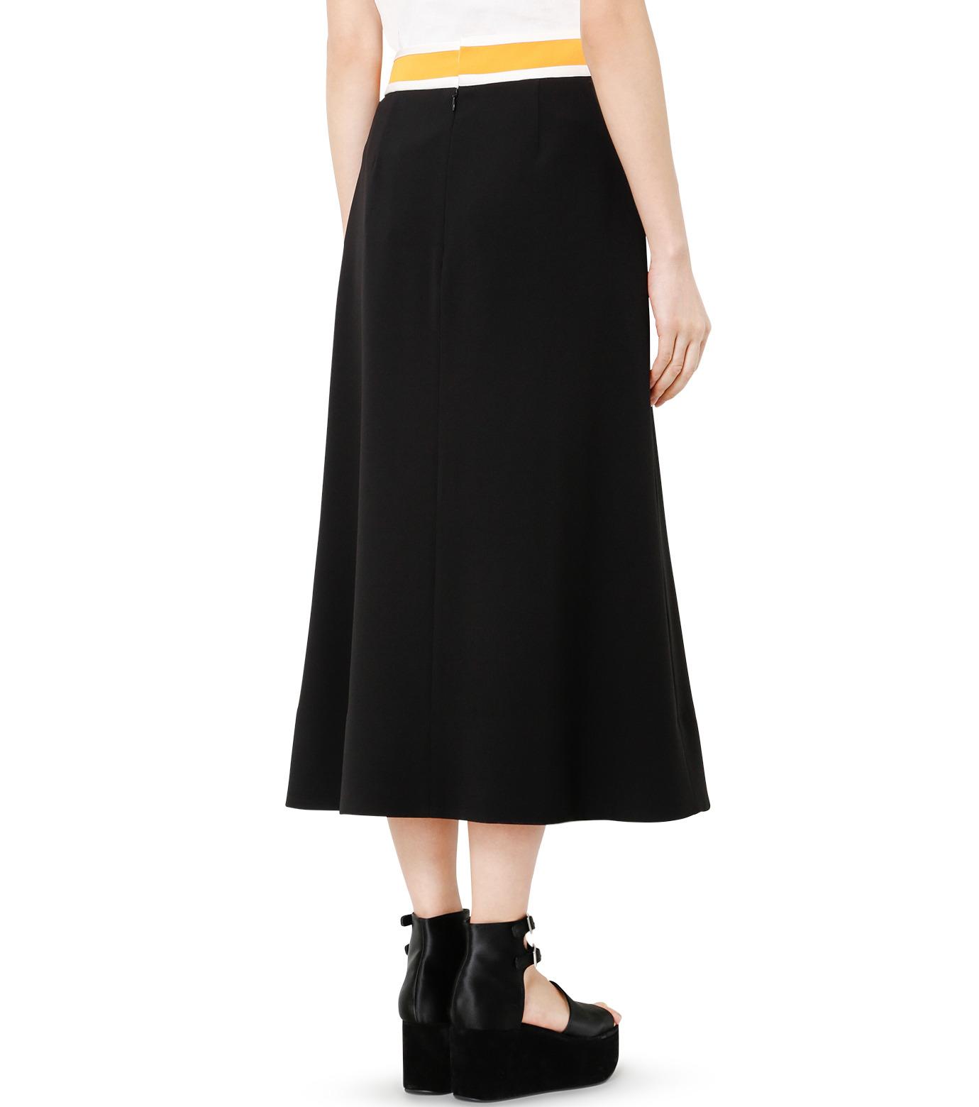 LE CIEL BLEU(ルシェルブルー)のスイッチベルトフレアラインスカート-BLACK(スカート/skirt)-19S67102 拡大詳細画像4