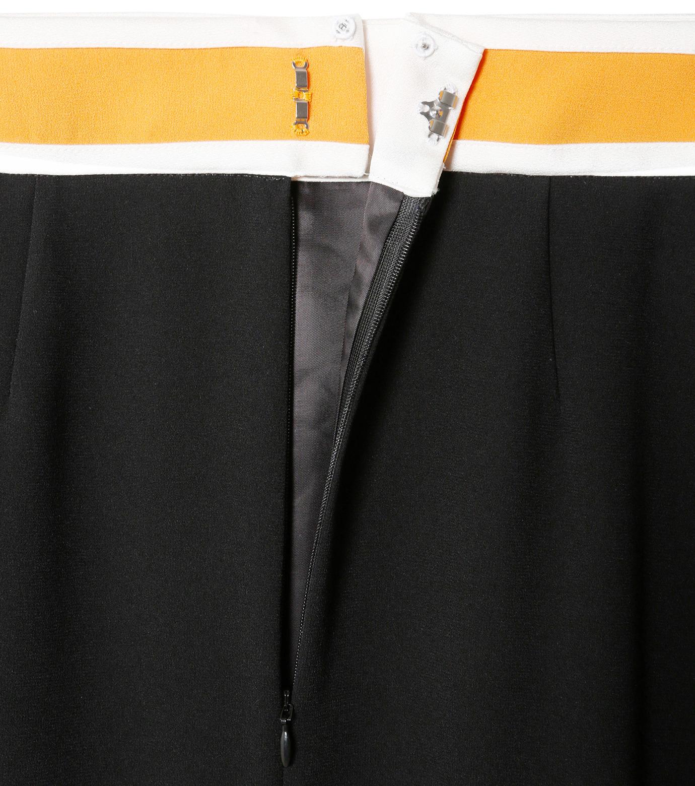 LE CIEL BLEU(ルシェルブルー)のスイッチベルトフレアラインスカート-BLACK(スカート/skirt)-19S67102 拡大詳細画像5