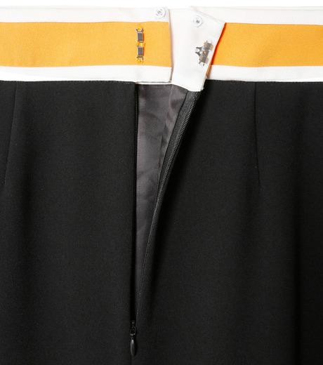 LE CIEL BLEU(ルシェルブルー)のスイッチベルトフレアラインスカート-BLACK(スカート/skirt)-19S67102 詳細画像5