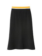 LE CIEL BLEU スイッチベルトフレアラインスカート