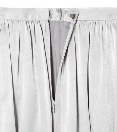 LE CIEL BLEU(ルシェルブルー)のテープギャザリングサテンスカート-GRAY(スカート/skirt)-19S67104 詳細画像5