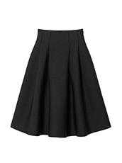 LE CIEL BLEU(ルシェルブルー) タックニットスカート