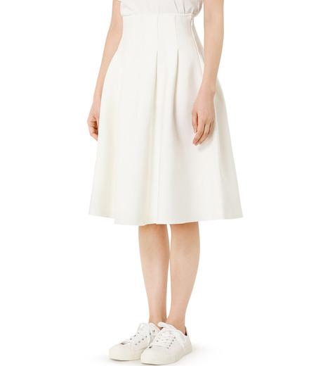 LE CIEL BLEU(ルシェルブルー)のタックニットスカート-WHITE(スカート/skirt)-19S67105 詳細画像3