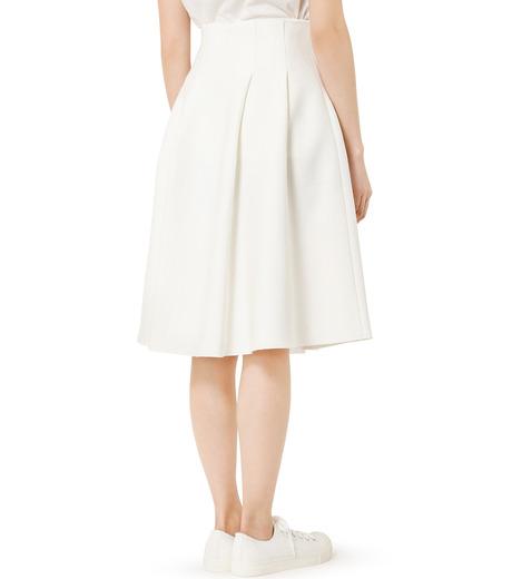 LE CIEL BLEU(ルシェルブルー)のタックニットスカート-WHITE(スカート/skirt)-19S67105 詳細画像4