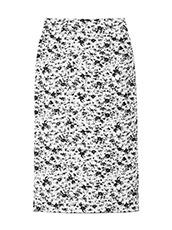 LE CIEL BLEU(ルシェルブルー) フラワージャカードニットスカート