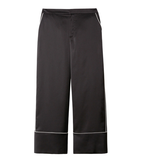 LE CIEL BLEU(ルシェルブルー)のパジャマルックパンツ-BLACK(パンツ/pants)-19S68101 詳細画像1